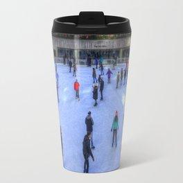 New York Ice Skating Travel Mug