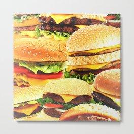 Burgers Metal Print