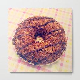samoa cake Metal Print