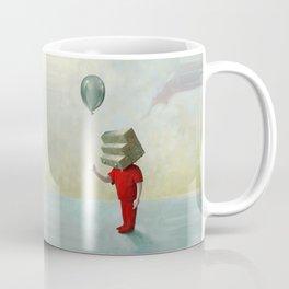Step-headed Red Child Coffee Mug