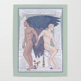 Hypnos and Thanatos (Sleep and Easeful Death) Poster