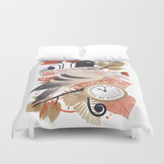 I Want The World To Stop Duvet Cover