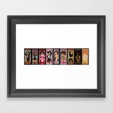 Modern Day Muses - Full Set Framed Art Print