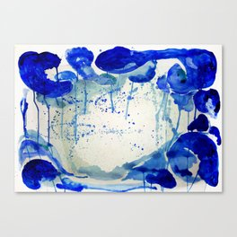 All blue everything Canvas Print