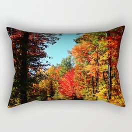 Into the Colors Rectangular Pillow