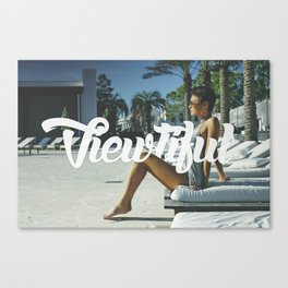 The Viewtiful Canvas Print