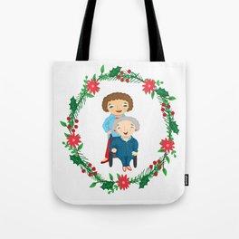 Custom Family Portraits Tote Bag