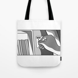 That Song Reminds Me Of You Tote Bag