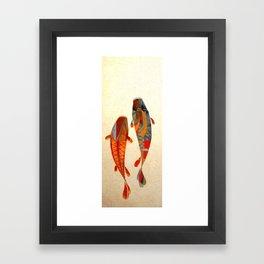 Kolors Koi Framed Art Print