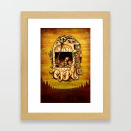 It Came and Went Framed Art Print