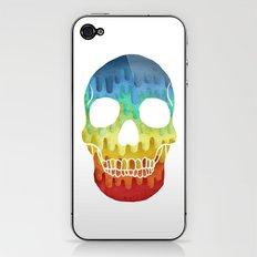 Paper Skull iPhone & iPod Skin