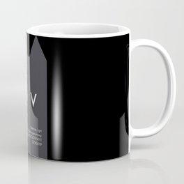 DRACULA - FontLove - HALLOWEEN EDITION Coffee Mug