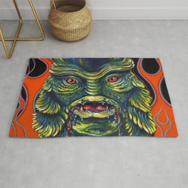 Creature From The Black Lagoon Rug