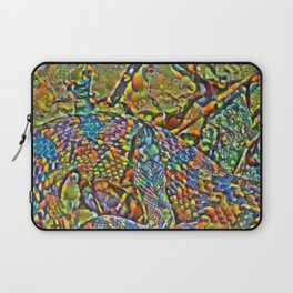 Colorful Scales Laptop Sleeve