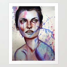 Aurelie Art Print