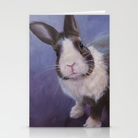 furry Stationery Cards featuring Furry Friend by Ashley Vanchu