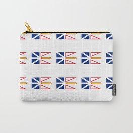 flag of newfoundland and labrador -avalon,newfoundlander,labradorian,john's,conception Carry-All Pouch