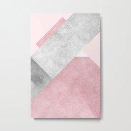 Modern Mountain No1-P3 Metal Print