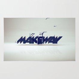make way. Rug
