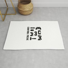 Control Freak, Gamer Gift, Video Game, Gaming Rug