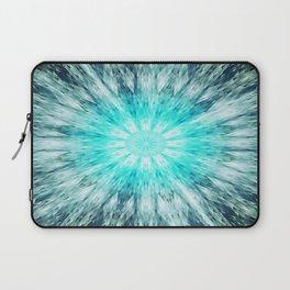 Teal Blue Mandala Laptop Sleeve