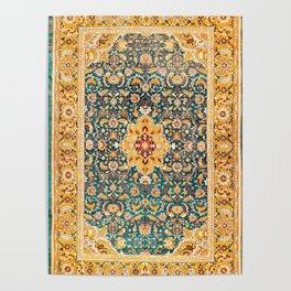 Amritsar Punjab Northwest Indian Rug Print Poster