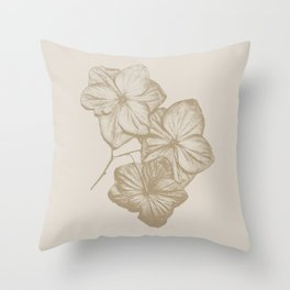 All bloomed out Throw Pillow
