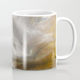 """J.M.W. Turner """"Valley of Aosta - Snowstorm, Avalanche and Thunderstorm"""" Coffee Mug"""