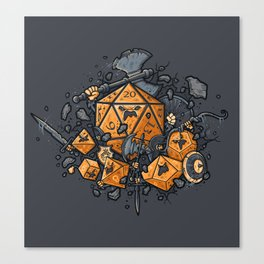 RPG UNITED Canvas Print