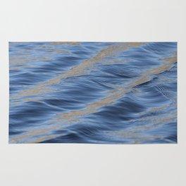 Blue Waves Rug