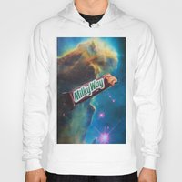 milky way Hoodies featuring The Milky Way by John Turck