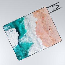 Beach Illustration Picnic Blanket