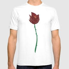 Beauty & The Beast | Fairy Tales MEDIUM White Mens Fitted Tee