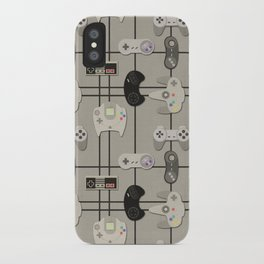 Paper Cut-Out Video Game Controllers iPhone Case