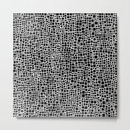 Black & White 6 Metal Print