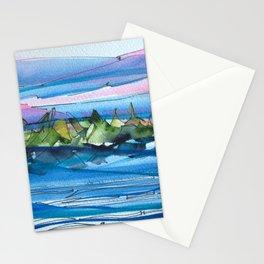 Montagne-fleuve si beau! Stationery Cards
