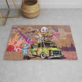 Pusher Carcophagus Rug