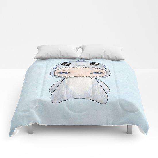 A Boy - Shark Comforters