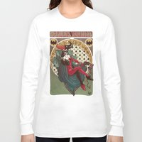 harley Long Sleeve T-shirts featuring Harley Quinn by LaurenceBaldetti