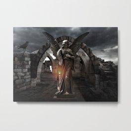 Statue_11 Metal Print