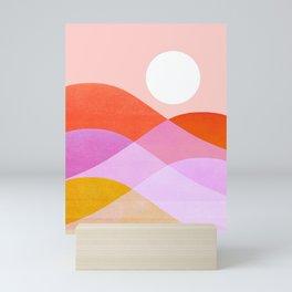 Abstraction_NEW_SUNSET_WAVE_JOY_POP_ART_0888D Mini Art Print