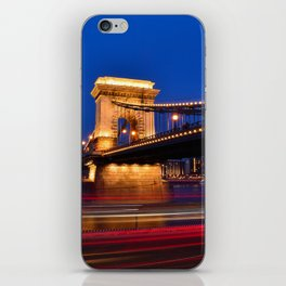 Szechenyi Chain bridge iPhone Skin
