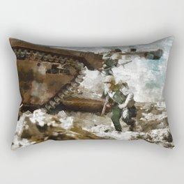 Okinawa, WWII Rectangular Pillow