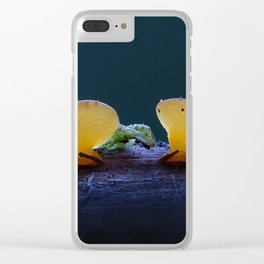 Jelly Fungus Clear iPhone Case