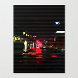 ASLEEP WITH NO AIR Canvas Print