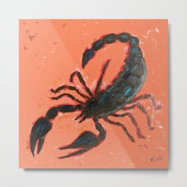 Arizona Scorpion Metal Print