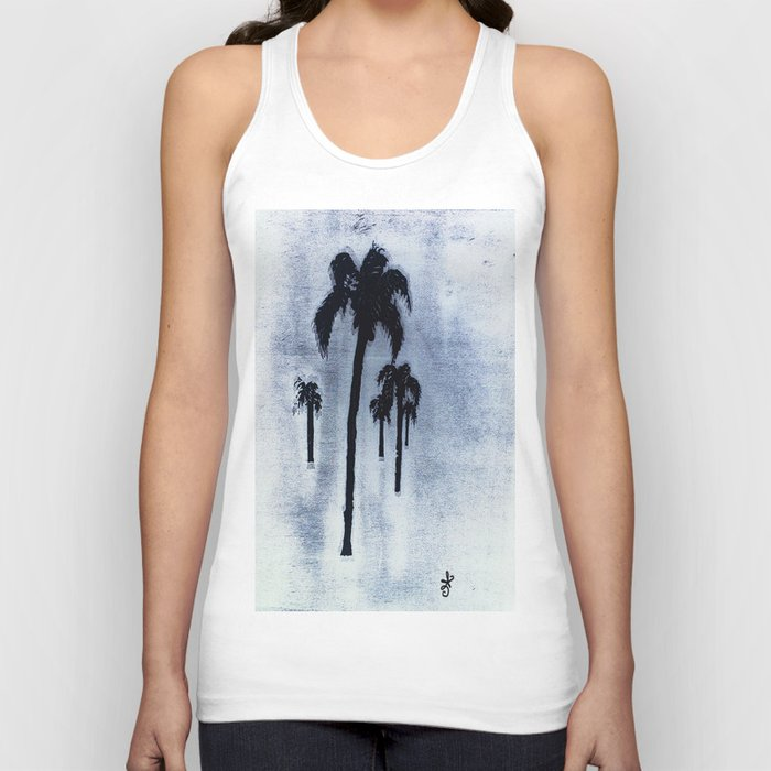 Shaking Those Trees, Caribbean Unisex Tank Top