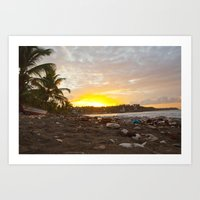Jacmel Sunrise Art Print