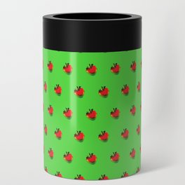 Strawberry Green - Posterized Can Cooler