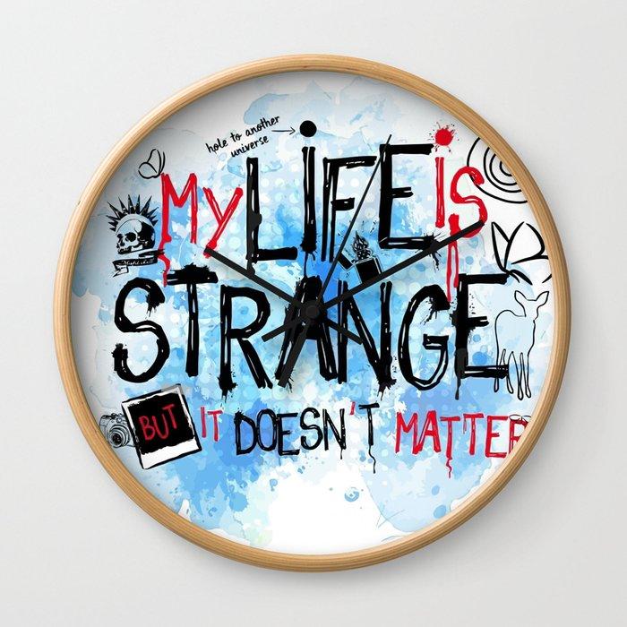 My life is strange! Wall Clock